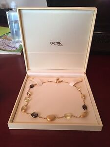 10k woman's necklace from Orora Gioielleri