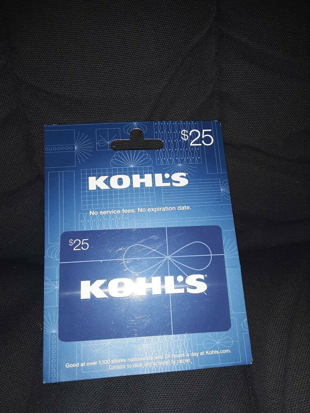 Blue 25 Kohl s Gift Card  - $25.00
