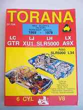 Torana repair manual South Lake Cockburn Area Preview