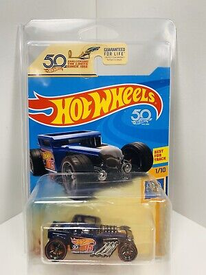 2018 Hot Wheels Super Treasure Hunt Bone Shaker Ultimate Chase W/ Protecto