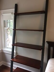 "Crate & Barrel ""Ladder""-Style Shelving Unit"