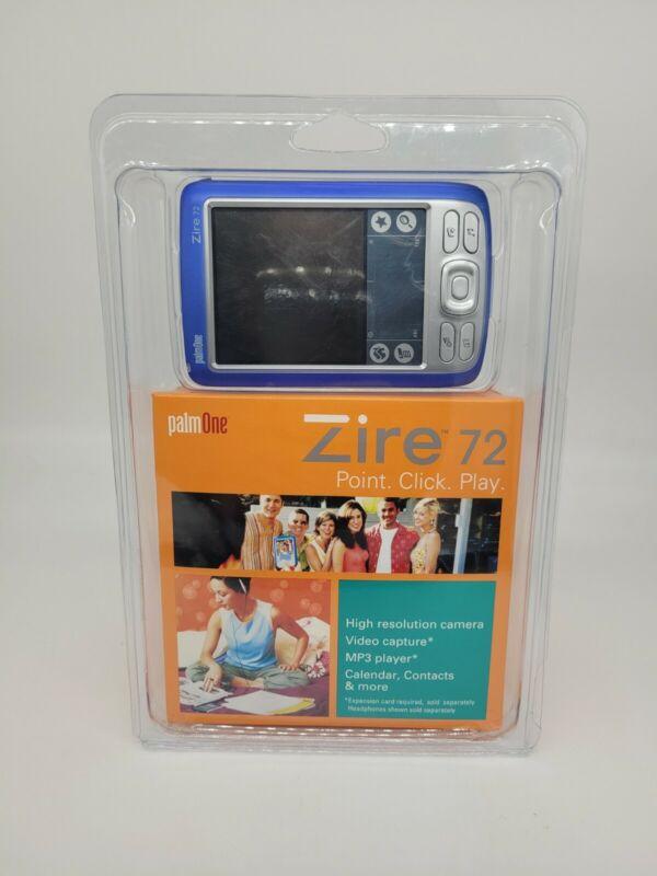 Brand New PalmOne Zire 72 Handheld P80722US Sealed 2004 Rare Great Condition 🔥