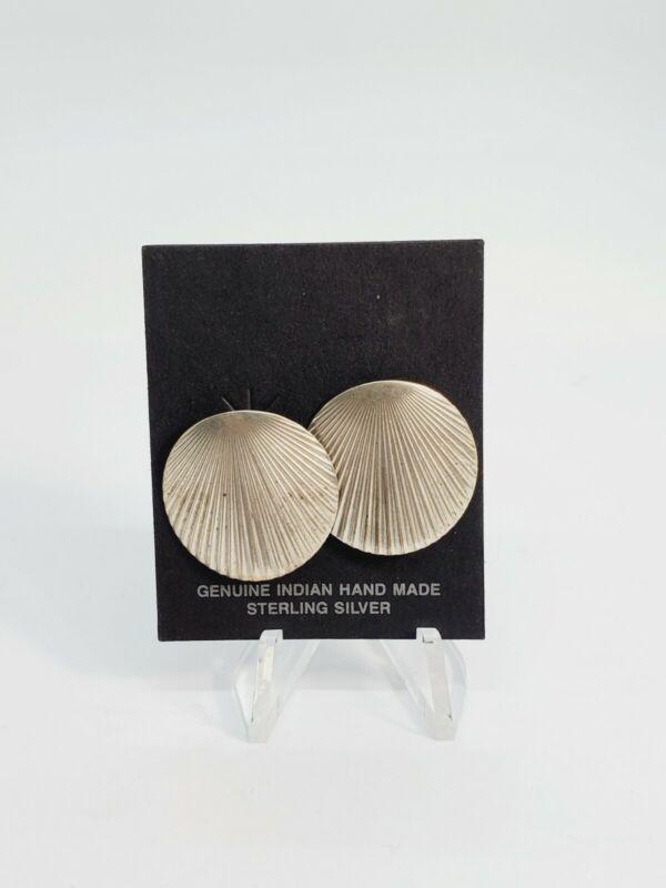Vintage 925 Sterling Silver Earrings  (51)