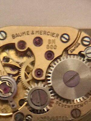 BAUME MERCIER HANDAUFZUG NUR WERK MIT ZIFFERBLATT-ZEIGER-KRONE-117