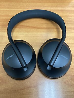 Bose 700 Noise Cancelling Wireless Headphones Black USED Bluetooth Tested
