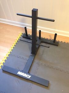 Marcy weight plates tree quality all metal tree