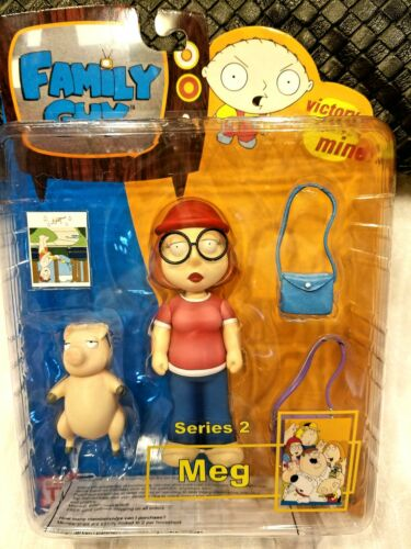 MEZCO FAMILY GUY SERIES 2 MEG GRIFFIN WITH PIG ACTION FIGURE