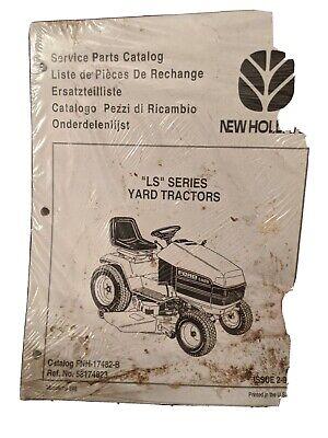 Ford New Holland Ls Series Yard Tractors Service Parts Catalog Manual