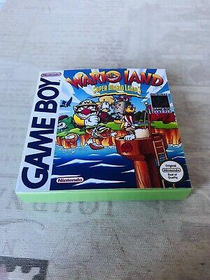 Caja (Repro) Super Mario Land 3 , Wario Land (Game Boy)