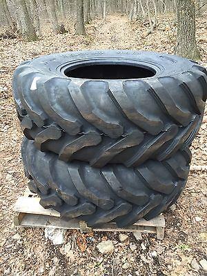 2 New Camsosolideal Backhoe Tires Sla R4 - 19.5lx24-19.5l-24-19.5x24-19.5-24