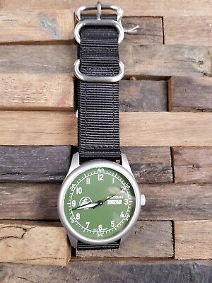 Minuteman A11 American Field Watch OD Green Dial Powered by Ameriquartz