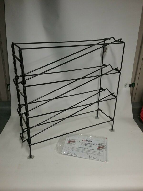 TW - CDR-3, 3-TIER CUP DISPENSING RACK