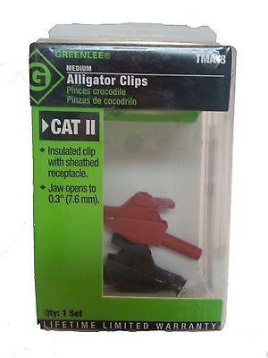 Greenlee Insulated Alligator Clips Tma-3 Nib