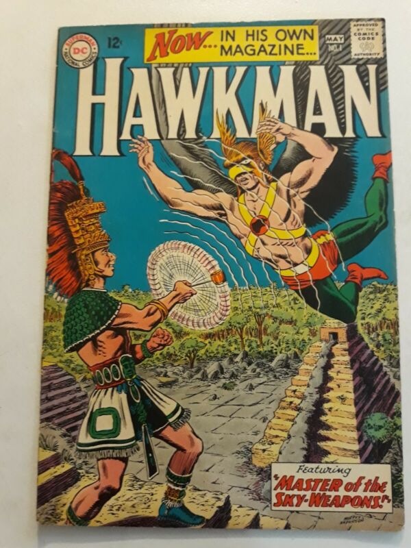 Hawkman #1 FN- Murphy Anderson 1964 Classic Cover