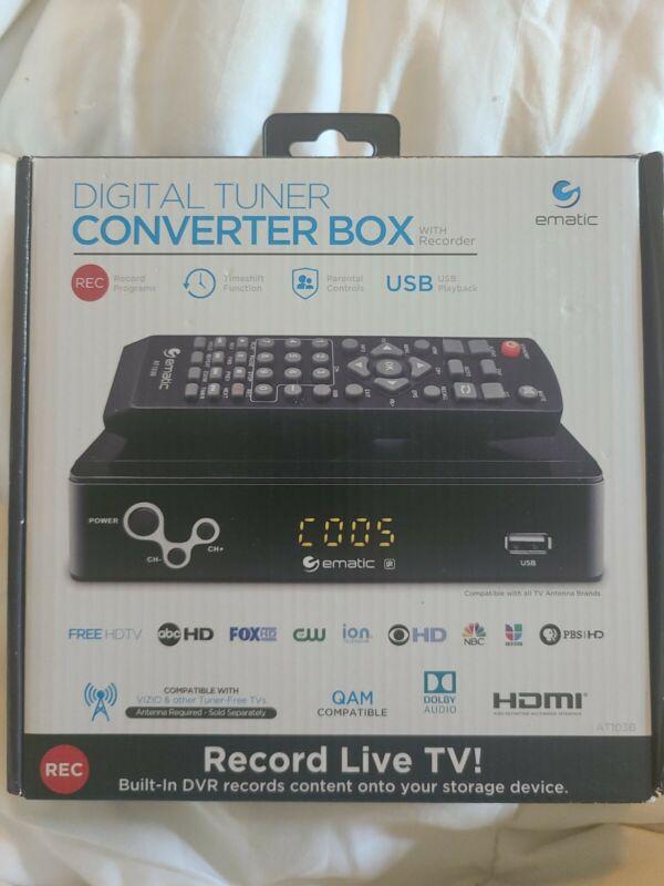 Digital Tuner Converter Box