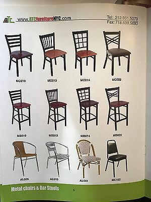 New Wholesale Price Commercial Restaurant Wood Metal Chair 29.95 Sale