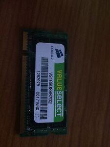 Corsair DDR2 1 GB Laptop RAM Thornlands Redland Area Preview
