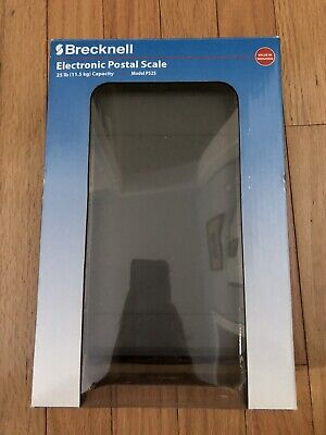 Brecknell Ps25 25 Lb X .2 Lb Electronic Postal Portion Scale Grey