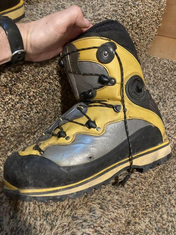 La Sportiva Spantik Mountaineering Boots - Size 43.5 M 10.5 W 11.5