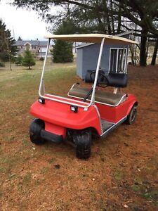 Golf cart - kart - voiturette