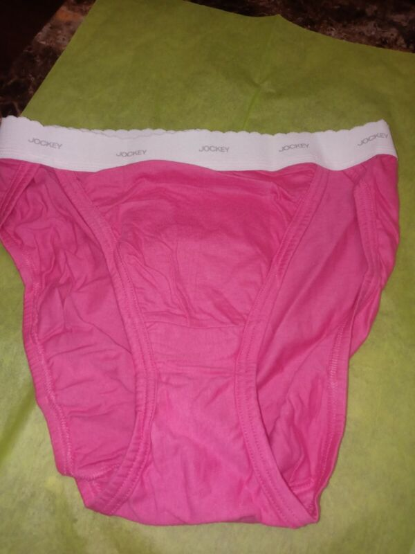 Vintage 80s 90s Jockey for Her French High Leg Cut Cotton Bikini Briefs, size 6