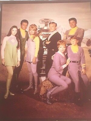 """Lost in Space (TV Series 1965–1968) Beautiful Picture, 10"""" x 8"""", Very Rare Cool"""