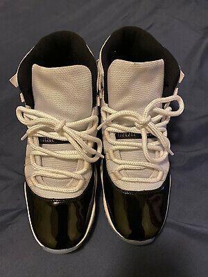2018 Nike Air Jordan Retro 11 XI White/Black-Concord 378037-100 Size 10.5 Men