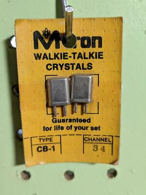 M-Tron Walkie Talkie Crystals Channel 21 MTron type CB-1