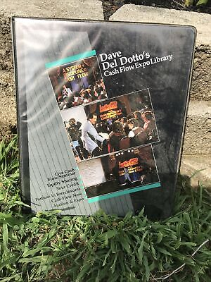 Dave Del Dotto's Complete Cash Flow Expo Library 16 Tapes
