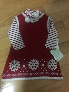 Brand New Girls Size 2 Winter Dress