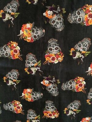 Wendys Welding Hat Made With Skulls 50 Fabric New