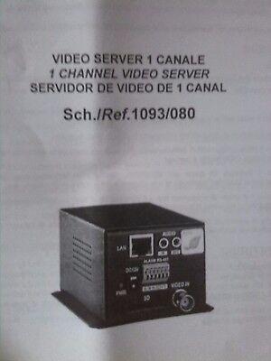 Video Server H.264 Urmet 1093/80