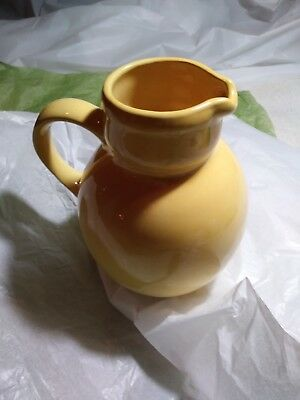 "Pitcher Ceram. 9"" Museum Q ""R5678 "" From: HENRY FORD PLANTATION Richmond,Hill GA"