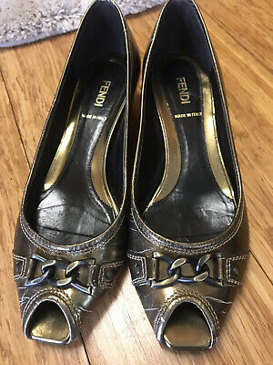 Authentic fendi women shoes size 7