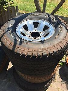 Toyota Land Cruiser wheels tyres Belmont Belmont Area Preview