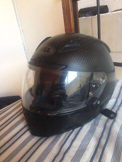 Bell star carbon motorbike helmet
