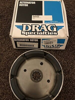 Drag Specialities 81-01 Harley Big Twin Heavy Duty Alternator Rotor - DS-195206 Heavy Duty Alternator Rotors
