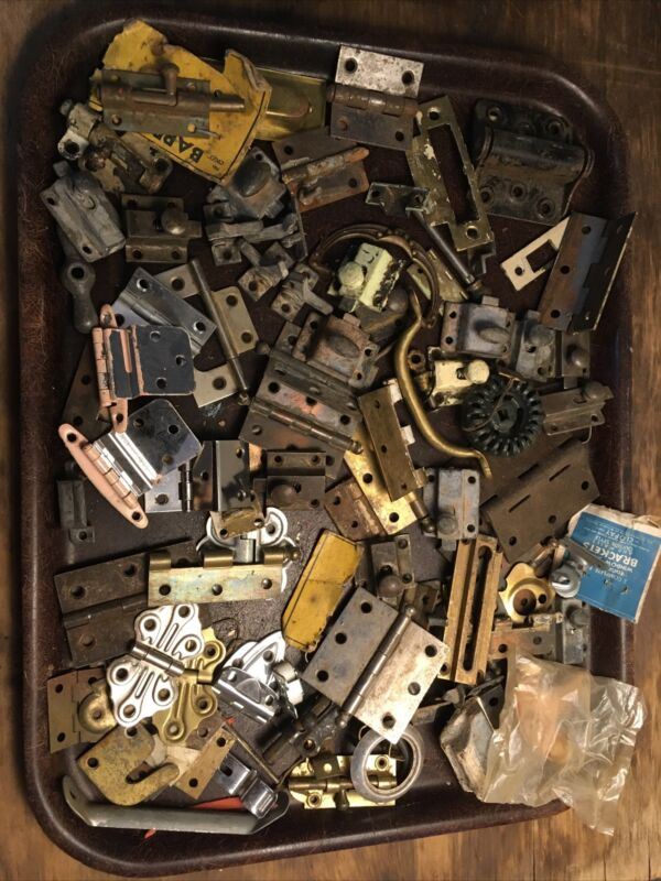Lot of Miscellaneous Vintage Hardware for Projects Repurposing