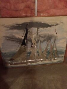 Bluenose Plaster and Mirror Painting