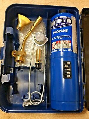 Mag-torch Mt700 Usa Deluxe 7 Piece Propane Torch Kit Soldering Brazing Tool