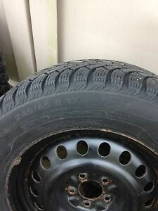 Nokian  winter 245 65 17 on rims 5x114.3