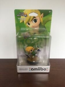 Zelda related amiibo.