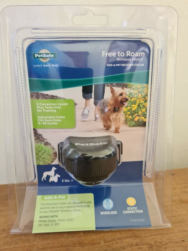 PetSafe Free To Roam Wireless Fence Receiver Collar, Black PIF00-15002