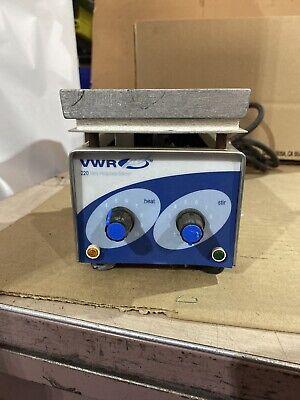 Vwr Scientific 220 Mini Hotplate Stirrer.