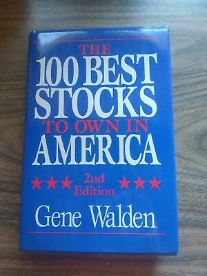 THE 100 BEST STOCKS TO OWN IN AMERICA - GENE WALDEN 1991 2ND ED - HARD
