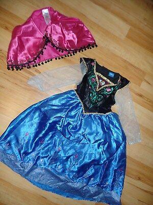 NEU Fasching Karneval Kostüm Kinder Mädchen Prinzessin Elsa Anna Disney - Disney Prinzessin Elsa Kostüm