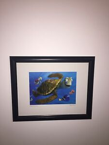 Finding Nemo picture in frame
