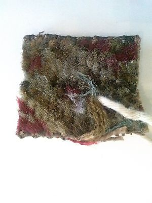 Piece of White House Rug from Andrew Johnson Administration. Has Documentation