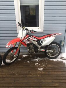 2007 Crf250r trade for sea doo or boat
