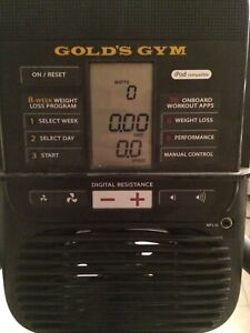 Gold's Gym Cycle Trainer 400R